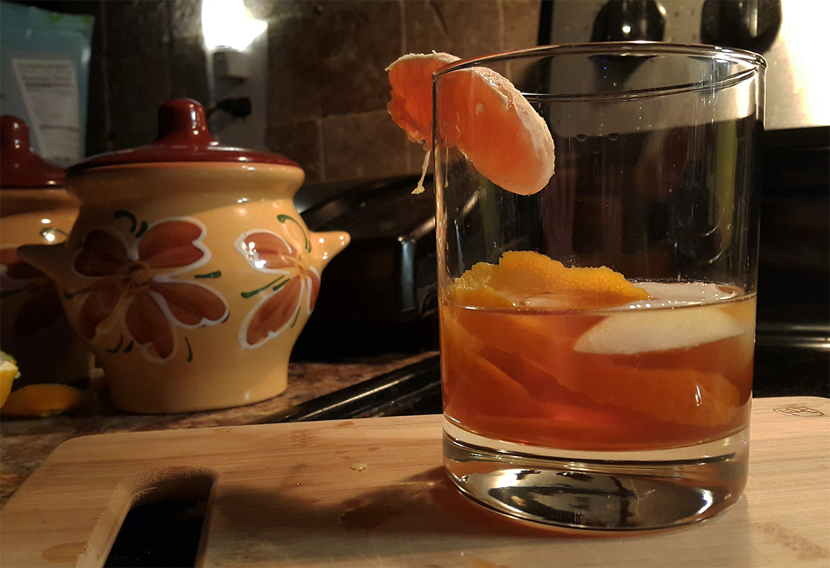 Коктейль «Old fashioned»