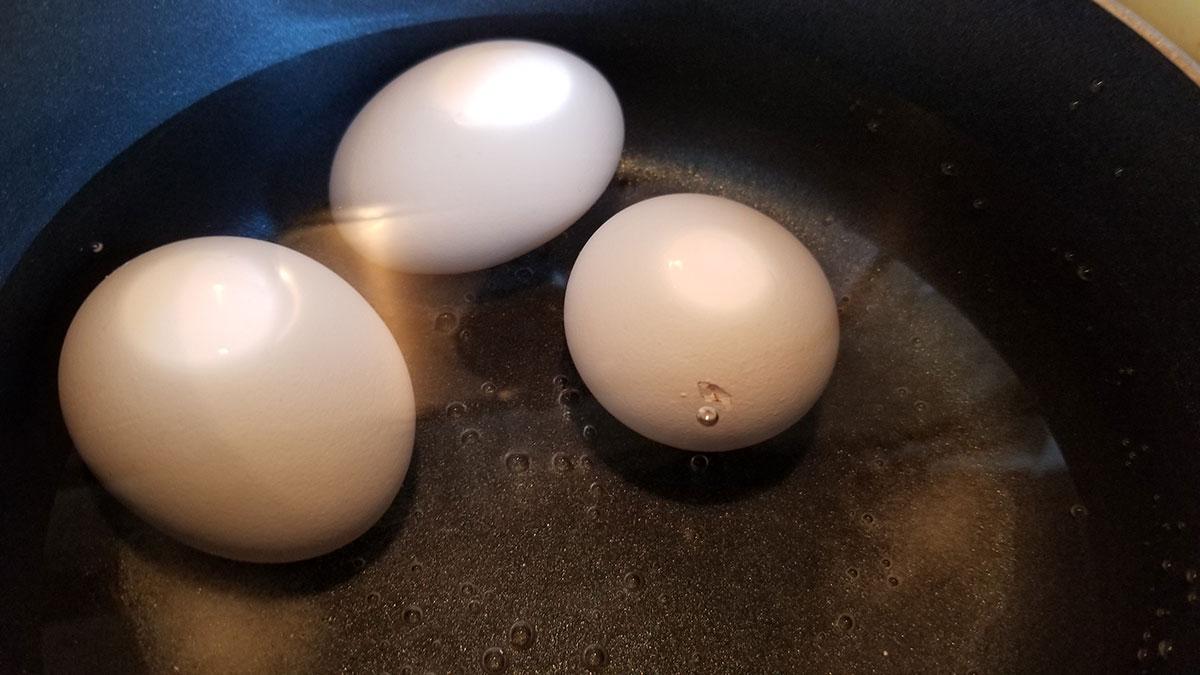 Белок яиц зеленого цвета