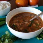 Пуктяй - корейский суп с соевой пастой